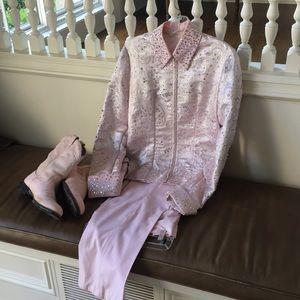 Horse show clothes- SHMP jacket/pants/boots